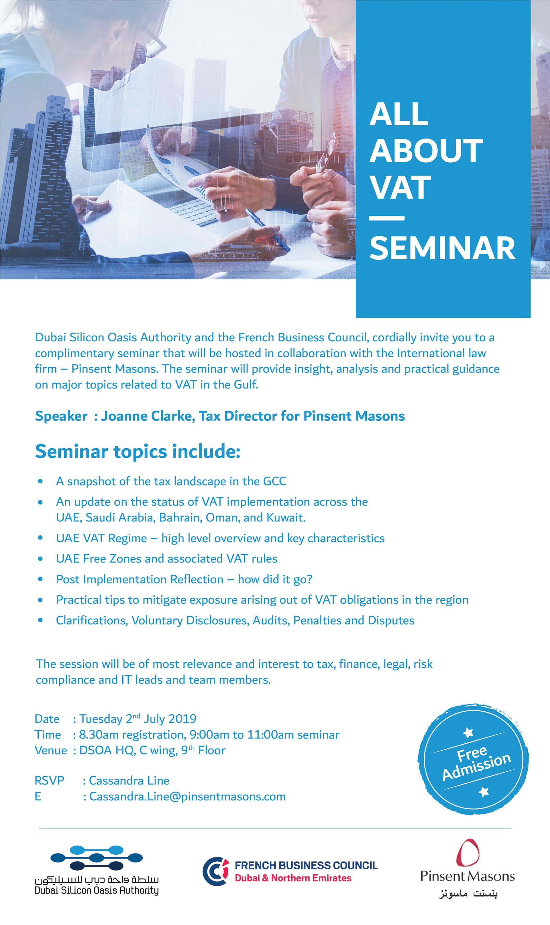 All About VAT Seminar