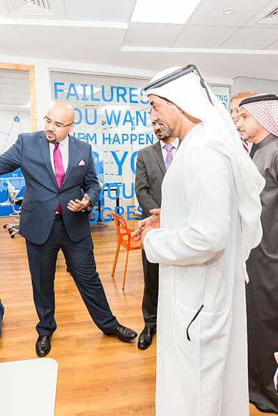 Sheikh Ahmed Bin Saeed Al Maktoum Visit Dtec