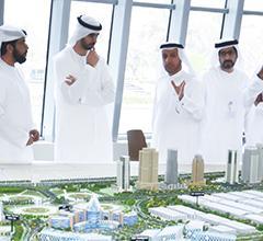 His Excellency Omar Sultan Al Olama Visits Dtec, Silicon Park at DSOA