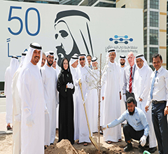 Dubai Silicon Oasis Plants 1,000 Ghaf Trees to Mark  Year of Tolerance