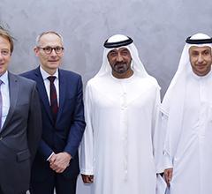 H.H. Sheikh Ahmed Bin Saeed Inaugurates Orange Business Services Regional HQ