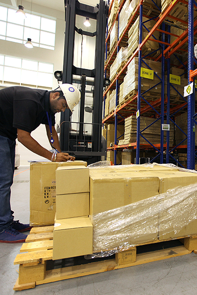 Operational Warehouse Space