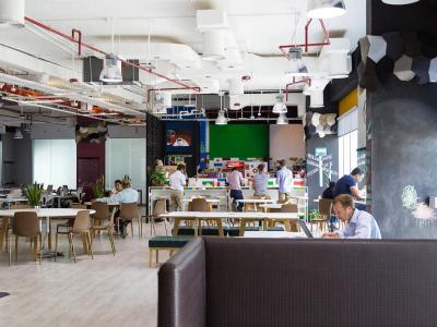 Dtec Food Court Area