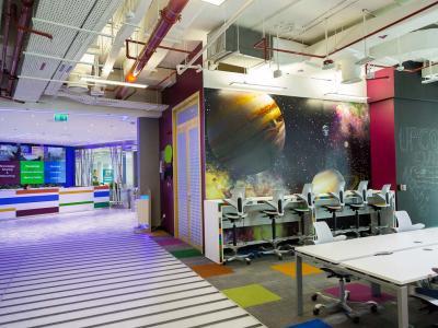 Dtec Reception Area
