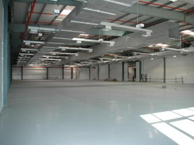 High Bay Warehouse Spaces Interior