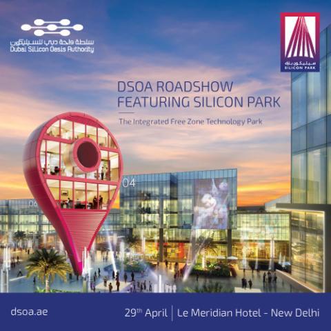 DSO Roadshow Featuring Silicon Park New Dehli India
